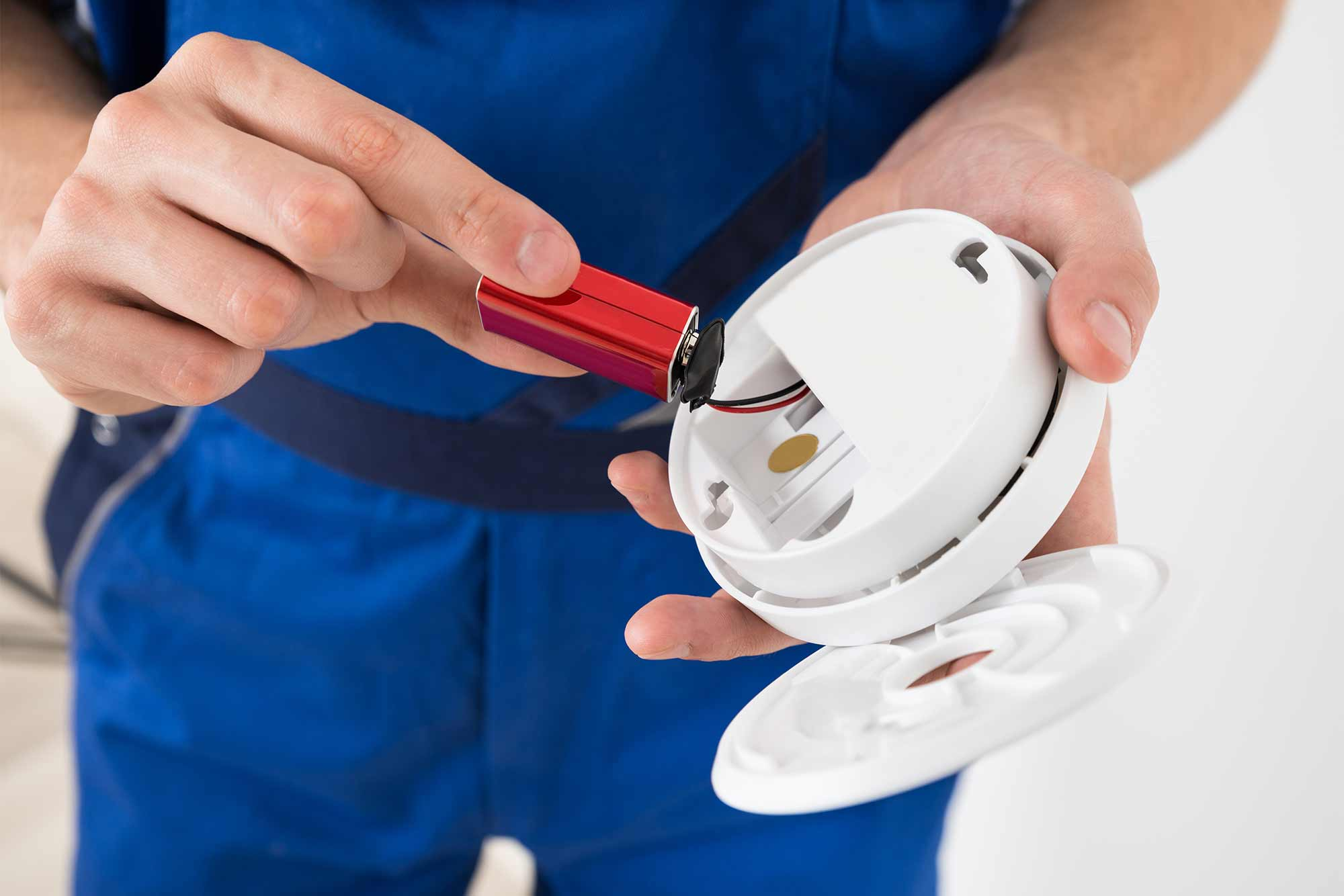 Checkmate Safety Smoke Alarm Testing and Smoke Alarm Servicing System is EASY and EFFECTIVE.