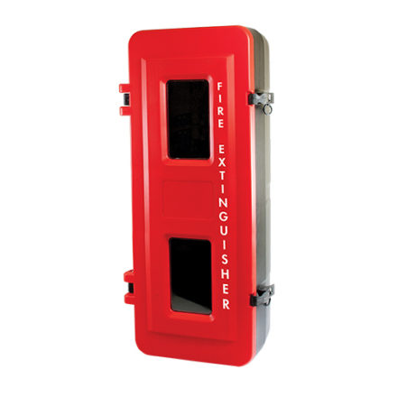 Fire Extinguisher Cabinet Heavy Duty Plastic 9KG