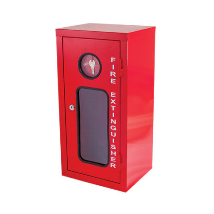 Fire Extinguisher Cabinet - Metal - Fits 2.5kg