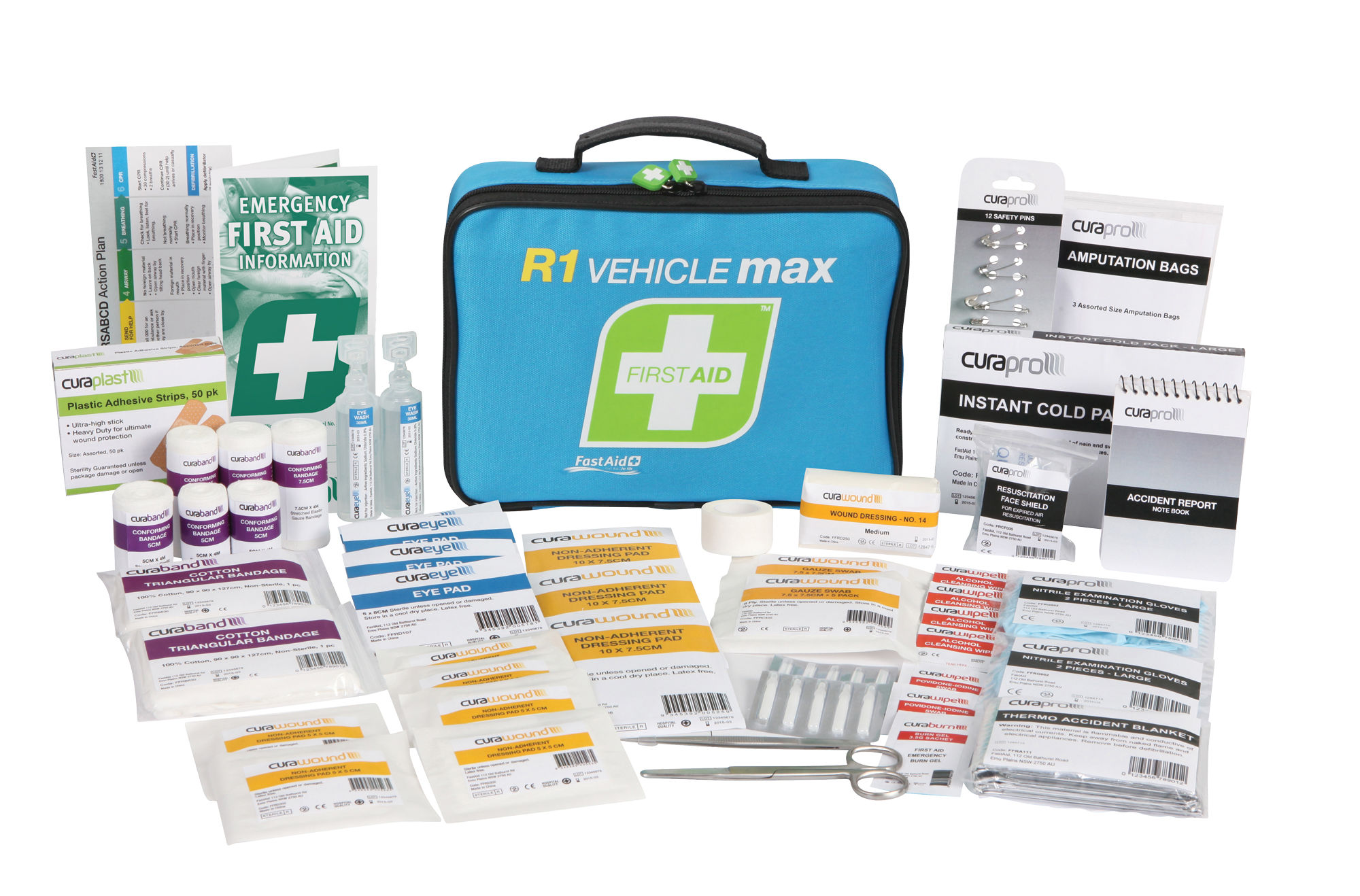 First Aid Kit - Vehicle Max Kit - Soft Case