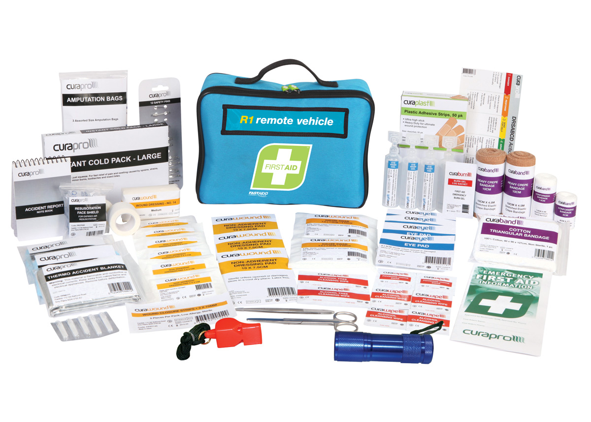 First Aid Kit Remote Vehicle Kit Soft Case Checkmate