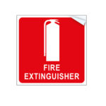 Fire Extinguisher Vehicle - Sign