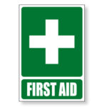 First Aid Sign - Green