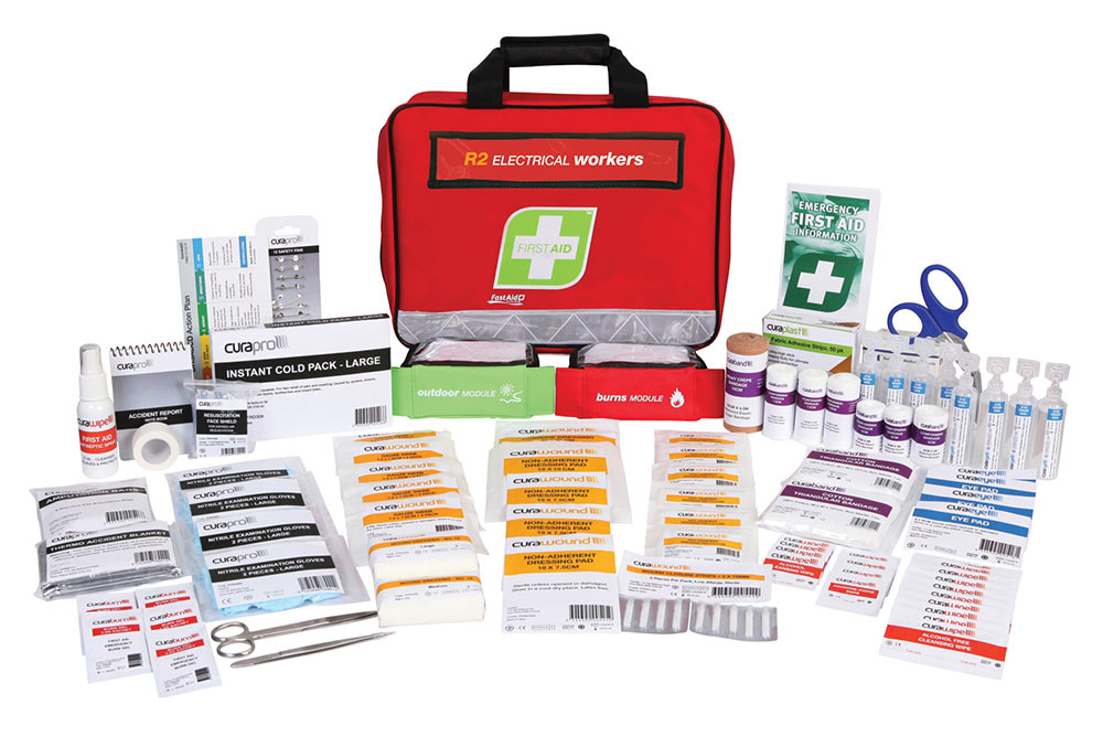 First Aid Kit - Electrical Workers Kit - Soft Case