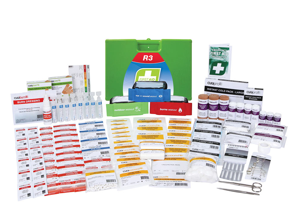 First Aid Kit - Construction Pro Kit - Plastic Case